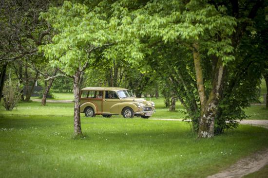 Saint-Etienne-de-Villereal, France : Le camping