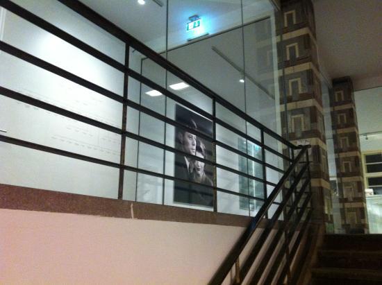 The Kennedys: Blick ins Museum vom Treppenhaus aus