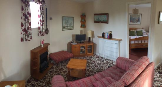 Hunston Mill Cottages: Panoramas of mill top (and mouldy high chair!)