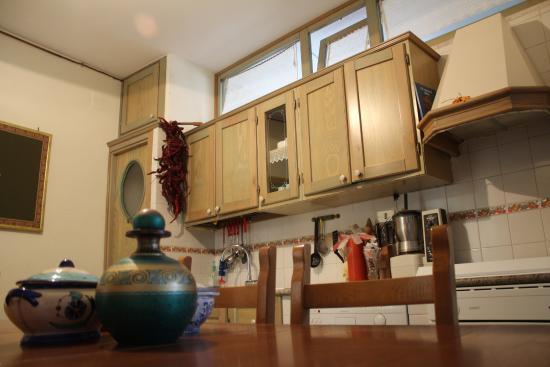 cucina - Foto di Il Picchio Parlante, Brindisi di Montagna - TripAdvisor