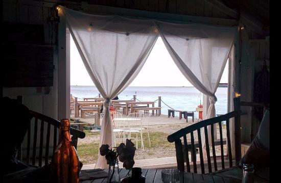 Gotland, Suède : Utsikt över viken