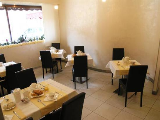 Alla Bianca Hotel Trattoria Bar: Кафе для завтрака
