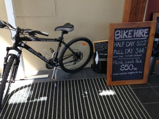 Cockatoo Valley, Australie : Hire a bike at Jacobs Creek and ride the new bike trail
