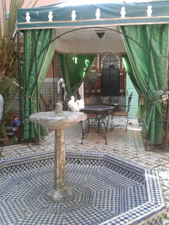 Riad Catalina: Little oasis