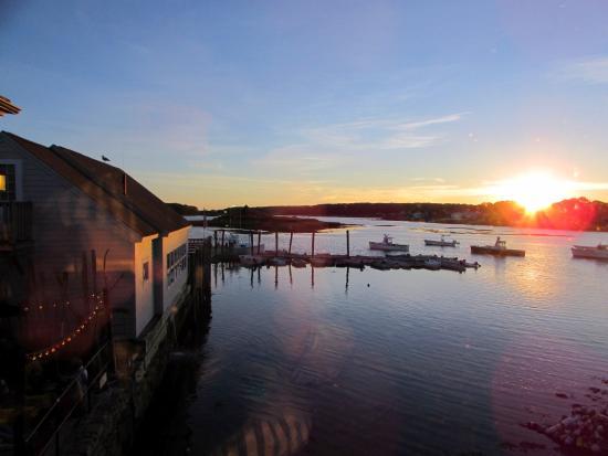 Cape Porpoise, ME: Sunset at Pier77