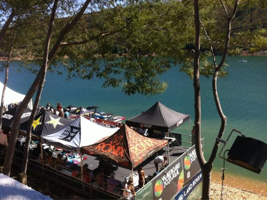 Ferreira do Zêzere, Portugal: WWA - World Wakeboard Association. Campeonato do mundo de Wakeboard e Lake Party no Lago Azul.