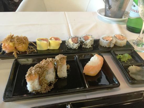 SushiClub Rosario: Menú del mediodía