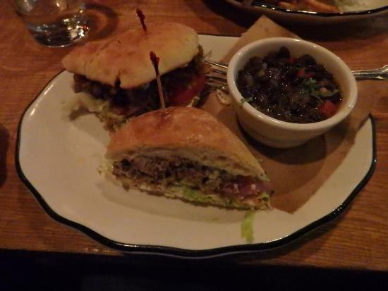 Pork Torta Burger - Picture of 101 Beer Kitchen, Dublin - TripAdvisor