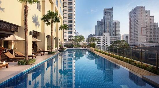Bangkok Marriott Hotel Sukhumvit красота
