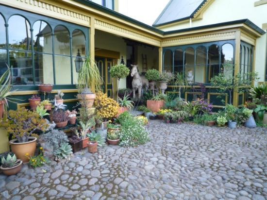 Corinda Collection: Entrance in Courtyard to Villa