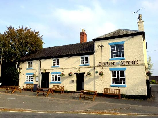 The Shoulder of Mutton: Our lovely pub