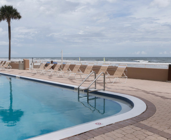 The Pool at the Holiday Inn Hotel & Suites Daytona Beach