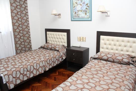 Ayacucho Palace Hotel: Habitación Doble Twin