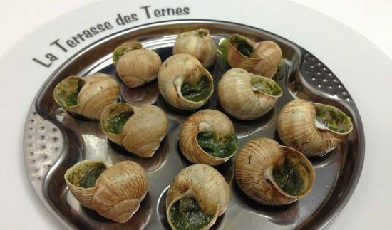 La Terrasse Des Ternes: Escargots de Bourgogne