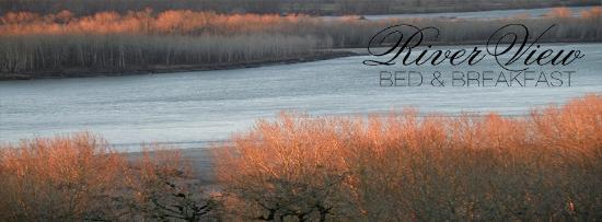 Riverview B&B: Fraser River in Fall