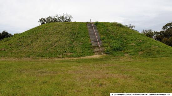 Emerald Indian Mound, Natchez Trace Parkway MP 10.3