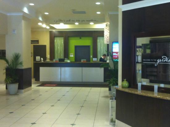 Reception - Picture of Hilton Garden Inn Saskatoon Downtown ...
