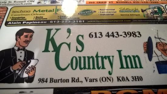 Foto de KC's Country Inn