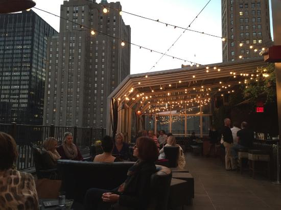 Bar En La Terraza Picture Of The Kimberly Hotel New York