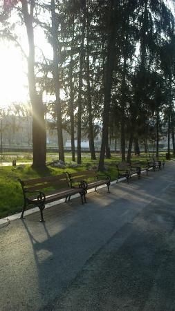 Strelcha, Βουλγαρία: Park near the center