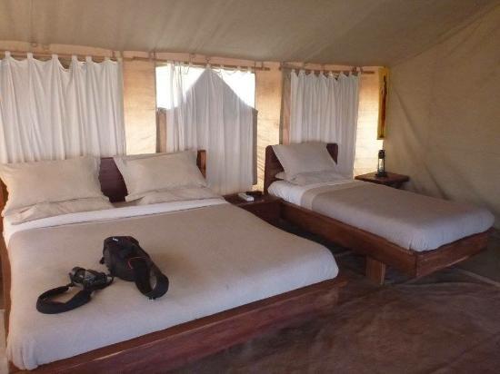 Nieleze Serengeti Camp : Comfortable beds