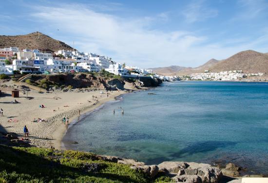 Playa La Calilla: Вид на пляж