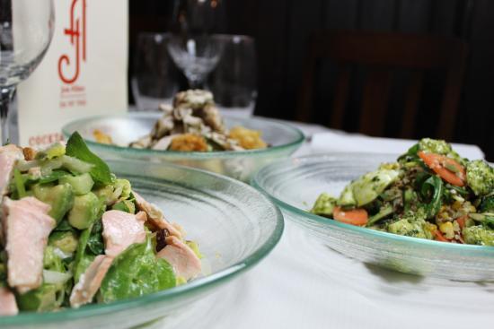 Joe Allen: Food on table