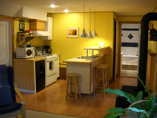 Pine Cones B&B: Fully equipped kitchen
