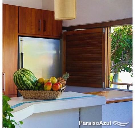 Posada Paraiso Azul : Cocina