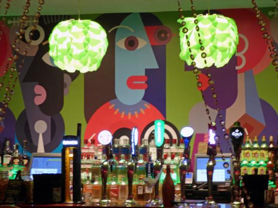 The House Hotel : Funky bar with great cocktails