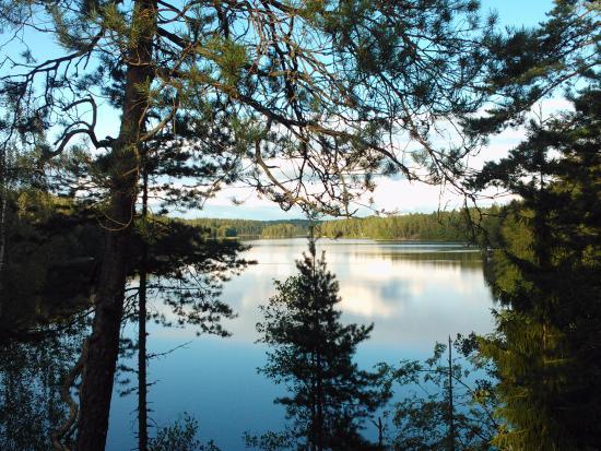 Finlandia meridionale, Finlandia: Lake Siikajärvi south border of the Nuuksio national park