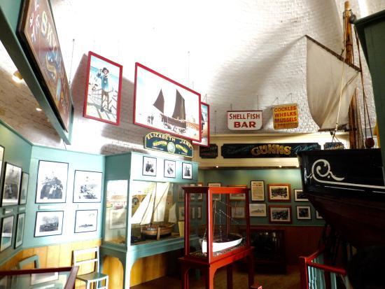 inside of Fishing Museum