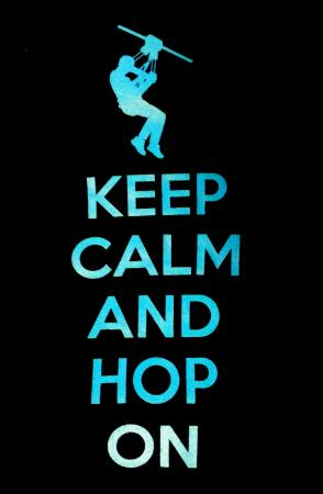 Holler Hoppin' Zip Lines: Keep Calm and Hop On