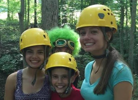 Holler Hoppin' Zip Lines: Photo bombing is our specialty