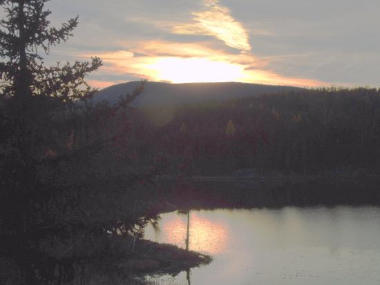 Idabel Lake, Canadá: Sunset