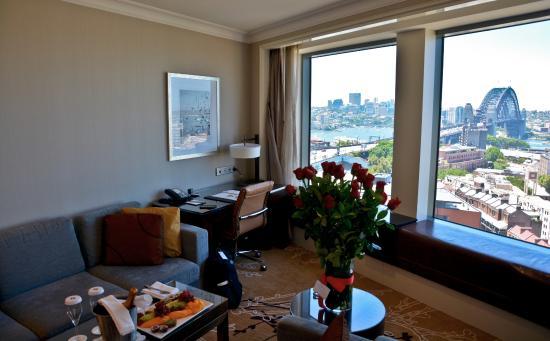 Premier Grand Harbour View Room Shangri La Hotel Sydney Australia