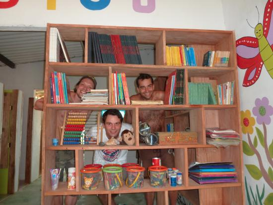 Mokanas Hostel and Campsite: New kids library
