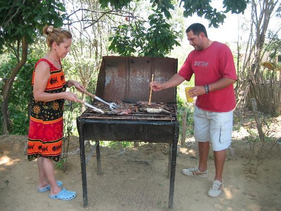 Paluato, Colombia: Fish BBQ