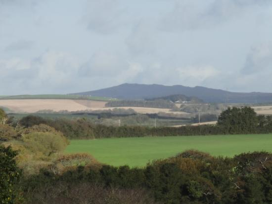 St Minver, UK: View to the East