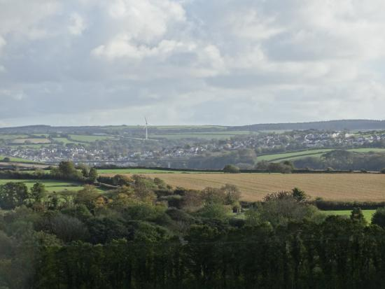 St Minver, UK: View to the South - Wadebridge