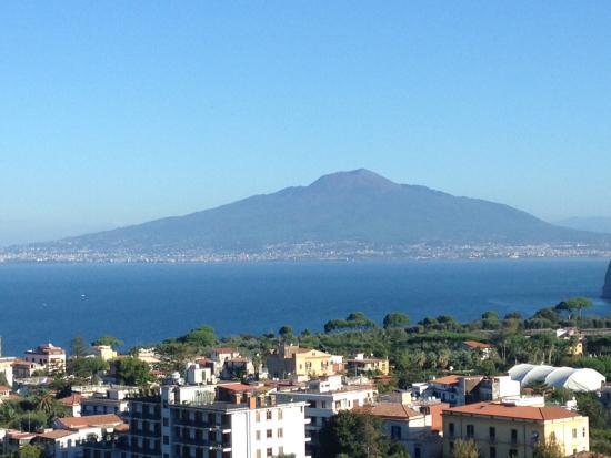 Cristina Hotel: Bay of Naples and Vesuvius