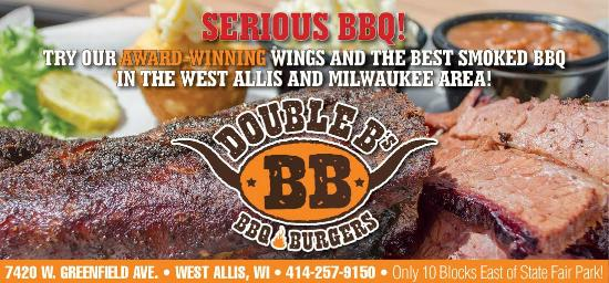 Double B's BBQ: 10 blocks East of State Fair Park