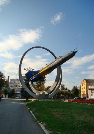 Monument in Honour of Ukraine Air Force Creation