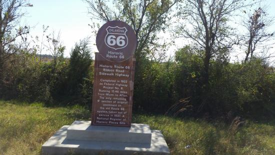 WorldMark Grand Lake : Route 66 Marker