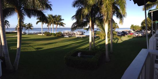 Tarpon Lodge & Restaurant: Beautiful view from our balcony