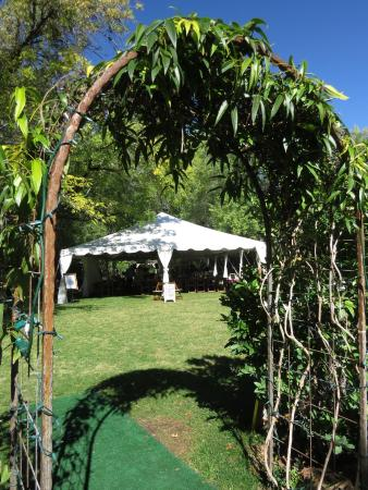 Creekside Inn at Sedona: Wedding Tent