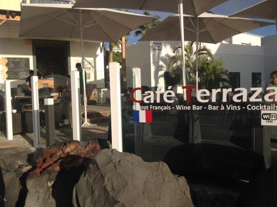 Entrée Picture Of Cafe Terraza Playa Blanca Tripadvisor