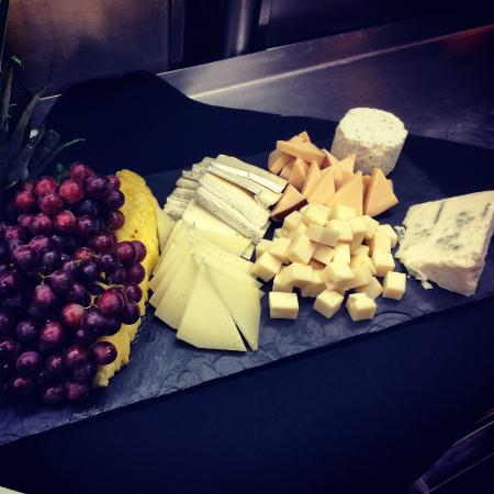 Malden, MA : Cheese & Fruit Platter