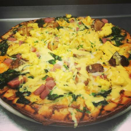 Malden, MA : Breakfast Pizza
