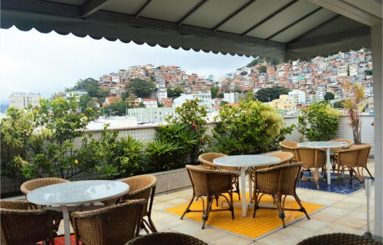 South American Copacabana Hotel: Terraço
